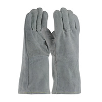 PIP  Split Cowhide Leather Welder's Glove with Cotton Liner - 73-888A