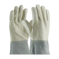 PIP  Top Grain Cowhide Leather Mig Tig Welder's Glove with Kevlar® Stitching - Split Leather Band Top - 75-2022