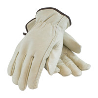 PIP  Premium Grade Top Grain Cowhide Leather Glove with Red Foam Lining - Keystone Thumb - 77-268