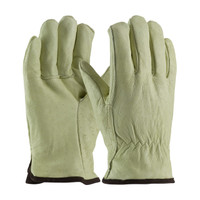 PIP  Premium Grade Top Grain Pigskin Leather Glove with White Thermal Lining - Straight Thumb - 77-418