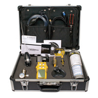 BW GasAlertQuattro Multi-Gas Detector Confined Space Kit QT-XWHM-R-Y-NA-CS [LEL, o2, co, H2S]