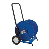 Heavy Duty Hand Hose Reel w/Cart Up To 300' of Air Line - 860817