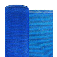 "Blue Privacy Fence Netting - 5'8"" x 150'"