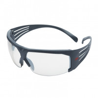 3M SecureFit  SF601SGAF Clear Scotchgard  Anti-fog lens 20 ea/case