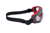 3M Goggle Gear 500-Series GG501NSGAF Clear Scotchgard Anti-fog lens neoprene strap 10ea/cs