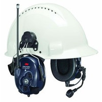 3M PELTOR WS LiteCom PRO III - Hard Hat Attached - MT73H7P3E4D10-NA