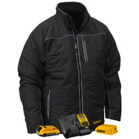DeWalt Quilted Heated Soft Shell Work Jacket DCHJ075D1