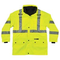Ergodyne GloWear 8385 Lime Type R Class 3 4-in-1 Jacket