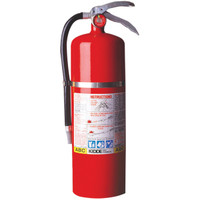 Kidde Pro Plus™ 10 lb ABC Extinguisher w/ Vehicle Bracket - 468002K