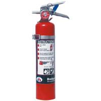 Badger™ Extra 2.5 lb Purple K Extinguisher w/ Wall Hook - 23485B