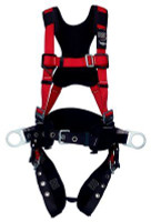 3M Protecta PRO Construction Style Positioning Harness - Comfort Padding 1191433, Red, Medium/Large