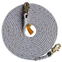 3M DBI-SALA  Rope Lifeline with 2 Snap Hooks 1202790