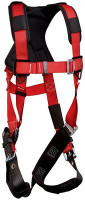 3M Protecta PRO Vest-Style Harness - Comfort Padding 1191429, Red Small
