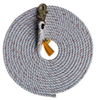 3M DBI-SALA  Rope Lifeline with Snap Hook 1202821