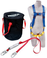3M Protecta Compliance in a Can Light Roofer's Fall Protection Kit, In a bag 2199808