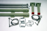 3M DBI-SALA  Sinco Rack Guard Extension Starter Kit, Offset 4101504