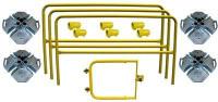 3M DBI-SALA  Portable Guardrail Roof Hatch Kit 7900008