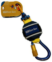 3M DBI-SALA  Rope-Safe Mobile/Static Rope Grab with Attached EZ-Stop 8700570, Gold, 1 ft. (0.3 m)