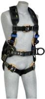 3M DBI-SALA  Delta Comfort Arc Flash Construction Style Positioning Harness 1112597, Black Large