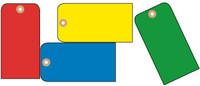 TAGS, BLANK, DK. BLUE, 1 7/8X3 3/4, CARDSTOCK