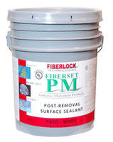Fiberset Lockdown Clear 5/gal (7475)