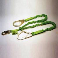 Miller Manyard II 6-ft Double Leg Lanyard w/1 Snap Hook & 2 Locking Rebar Hooks - 231M-Z7/6FTGN