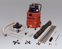 Nikro Dryer Vent Vacuum w/Tool Kit & Rotary Brush Kit - DVK200