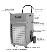 Abatement Technologies HEPA-Aire Portable Air Scrubber (700cfm-2100cfm) PAS2400
