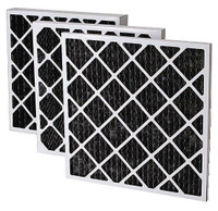 "16""x16"" Pleated Carbon Filter (Third) 12/cs"