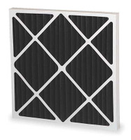 "24""x24""x2"" Pleated Carbon Filter (Third) 12/cs"
