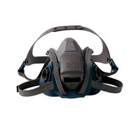 3M Rugged Comfort Quick Latch Half Mask (M,L)