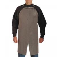 """Stainless Steel Mesh Split Leg Apron 26""""x34"""" - A2640 S/L"""