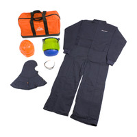 PIP 12 Cal/cm2 HRC 2 ARC Flash Coverall Kit - [Small - 4XL] 9150-52834