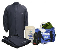 NSA ArcGuard® 12 Cal Arc Flash Kit UltraSoft® Short Coat & Bib Overalls