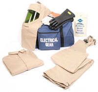 NSA ArcGuard® 40 Cal Economy™ Arc Flash Kit with Short Coat and Bib Overalls