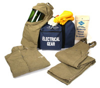 NSA ArcGuard® 40 Cal RevoLite™ Short Coat & Bib Overall Arc Flash Kit - HRC 4