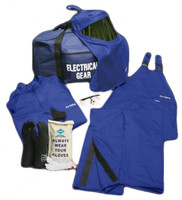 NSA ArcGuard® 50 Cal Kit with DuPont™ Nomex® Short Coat & Bib Overall