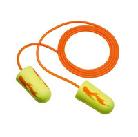 3M E-A-R E-A-Rsoft Yellow Neon Blasts Corded Earplugs [200 Pair] 311-1252