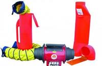 """Saddle Vent 10"""" Ventilation Kit for Non-Hazardous Locations - SVF-10ECUP"""