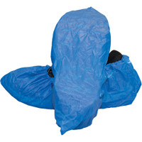 Blue Polyethylene Shoe Covers - 150 Pr/Cs