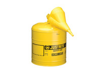 Justrite 5 Gallon Type 1 Diesel Self-Closing Lid Safety Can 7150120