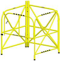 "Xtirpa™ Manhole Guard Integrated Mast 42"" IN-2108"