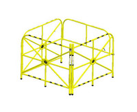 "Xtirpa™ Large Manhole Guard Integrated Mast 42"" IN-2324"