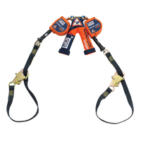 3M DBI-SALA Nano-Lok edge Twin-Leg 9 ft. Tie-Back Quick Connect Self Retracting Lifeline - Cable 3500228