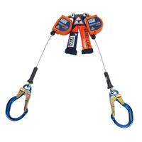 3M DBI-SALA Nano-Lok edge Twin-Leg 8 ft. Quick Connect Self Retracting Lifeline - Cable 3500231