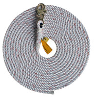 DBI-SALA 100 ft. Rope Lifeline with Snap Hook - 1202844