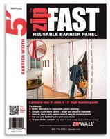 ZipWall ZipFast™ 5' Panel - ZF5