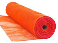"""1/4"""" Mesh 4' x 150' Orange Flame Retardant Safety Debris Netting"""