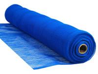 "Blue Flame Retardant 1/4"" Mesh Debris Netting - 5'6"" x 150'"