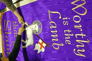 Church Advent Banners
